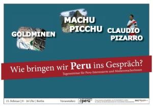 Einladung Medienseminar Peru