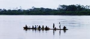 Amazonas mit Boot